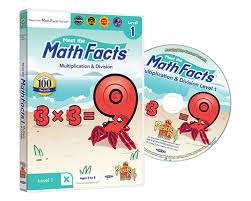 math facts math facts multiplication division 1 dvd