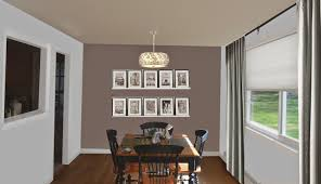 weafer design living room dining room paint colors
