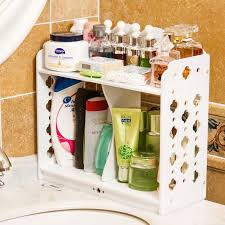 Plastic Bathroom Storage New White Plastic Bathroom Storage Shelf Rack Storage Plastic