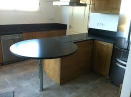table de cuisine sur mesure ikea plan cuisine sur mesure table arrondie granit noir