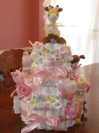 the hobby lady baby shower diaper cake