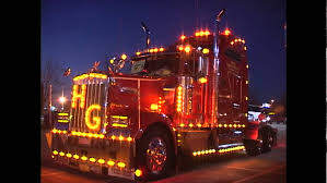 led lights for semi trucks mid america trucking show big rig video s custom trucks lights