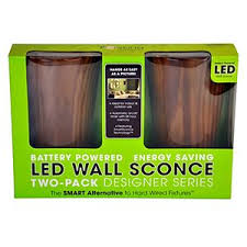 Battery Operated Wall Sconces Led Wall Sconce Battery Powered Cherry Samsclub Com Auctions