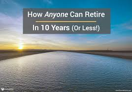 Retirement Expenses Worksheet How Anyone Can Retire In 10 Years Or Less