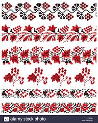 ukrainian ornaments vector illustrations of ukrainian embroidery ornaments patterns