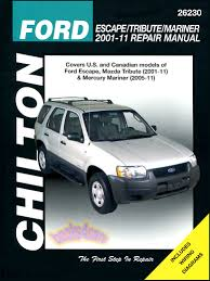 2008 ford escape u2013 review the repair manuals for the 2001 2012