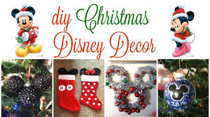 diy disney christmas decor 2016 youtube