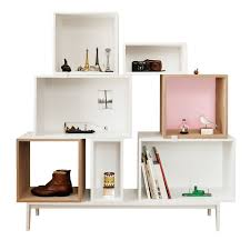 muuto danish and scandinavian modular bookcase bookshelf and