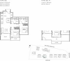 the glades condo floor plan u2013 2br suite u2013 b3 u2013 63 sqm 678 sqft b3