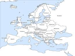 Blank Map Of Western Europe by Political Map Of Europe And Of Labeled Roundtripticket Me