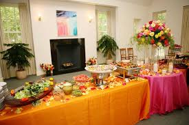 traditional buffet indian traditional menu wedding buffet decoration images