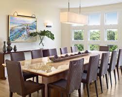 Rectangle Dining Room Light 8 Stylish Dining Room Lighting Walls Interiors