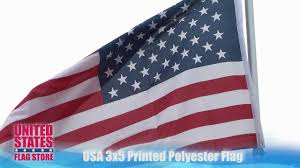 How To Dispose An American Flag Us 3x5 Printed Polyester Flag Youtube