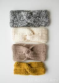 crochet headbands the twist headband all about ami