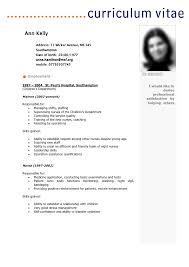 Resume Services London Ontario Cv Template Ann Kelly