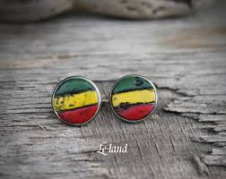 reggae earrings rasta earrings etsy