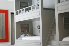 Built In Bunk Bed Built Bunk Beds Plans Bed Diy Blueprints Tierra Este 48302