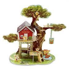 3d jigsaw puzzles jungle tree house c animal puzzle diy brain