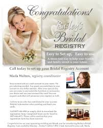 bridal registration bailey s bridal registry bailey s furniture