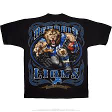 Detroit Lions Home Decor by Nfl Detroit Lions Running Back Black T Shirt Tee Liquid Blue