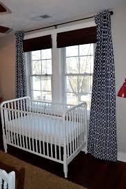 How To Make Curtains Longer Nursery Curtains Newlywoodwards