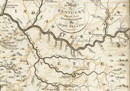 Chillicothe Ohio Map by 1784 Northeast Kentucky