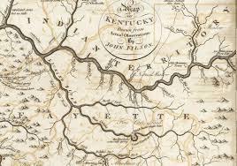 Lexington Ky Map 1784 Northeast Kentucky