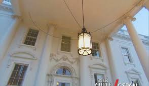 Front Entrance Light Fixtures by North Portico White House Museum