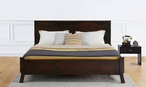 Double Cot Bed Sheets Online India Buy Advaita Double Bed Online In India Livspace Com