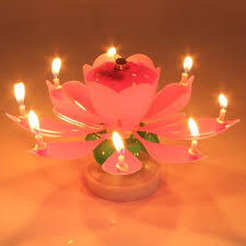 lotus birthday candle electric musical lotus flower birthday candle choiices