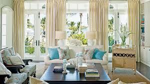 Florida Style Living Room Furniture Inviting Florida Homes Coastal Living