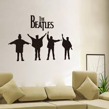 popular removable wall decals quotes buy cheap removable wall high quality cut vinyl sticker the beatles art quote wall decal room stickers vinyl removable wall