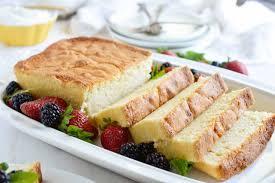 amaretto pound cake recipe with whipped crème fraîche wonkywonderful