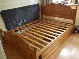 Wood Bed Frames King Size Wood Bed Frame In Bletchley Buckinghamshire Gumtree
