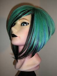 the matrix haircut mannequin hair created by tracey burnap avant garde hair color