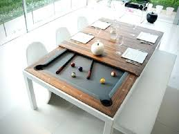 dining table converts to pool table pool table dining infosecmedia org