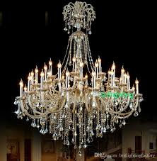 Chandelier Crystals Bulk Extra Large Crystal Chandelier Lighting Entryway High Ceiling