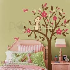 32 monkey wall decals for nursery monkey wall decals nursery wall wall decal for girl boy nursery removable wall decals stickers