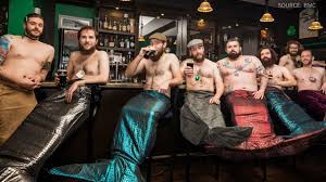 men calendar meet the bearded mermaid men coming to a calendar near you