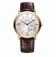 piaget altiplano altiplano date in pink gold piaget the jewellery editor