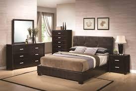 Bedroom Furniture  Leather Bedroom Furniture Full Bed Sets Modern - Dark wood bedroom furniture sets