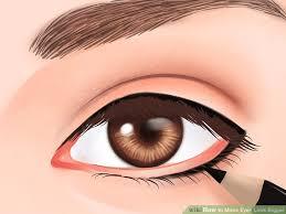 image led make eyes look bigger step 1bullet1