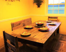 Pallet Dining Room Table Dining Room Table Etsy