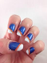 florida gator nail art university of florida nail art gator florida gator nail art