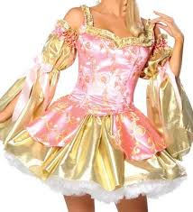Marie Antoinette Halloween Costumes Golden Marie Antoinette Costume Women 3wishes