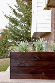 How To Make Planter Boxes by 25 Best Wood Flower Box Ideas On Pinterest Outdoor Flower Boxes