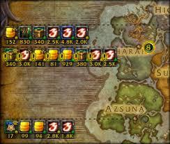 map quests quest tracker map minimap of warcraft addons curse