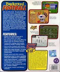 Wii Backyard Football by Backyard Football Box Shot For Pc Gamefaqs