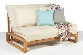 2 seater solid oak double sofa bed futon company