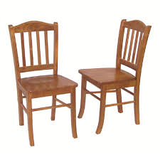 Shaker Dining Room Chairs by Amazon Com Boraam 30136 Shaker Chair Oak Set Of 2 Kitchen U0026 Dining